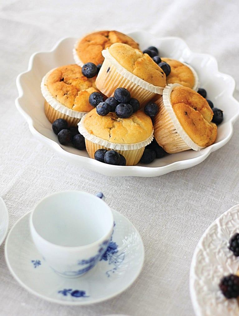 Glutenfri Blåbærmuffins