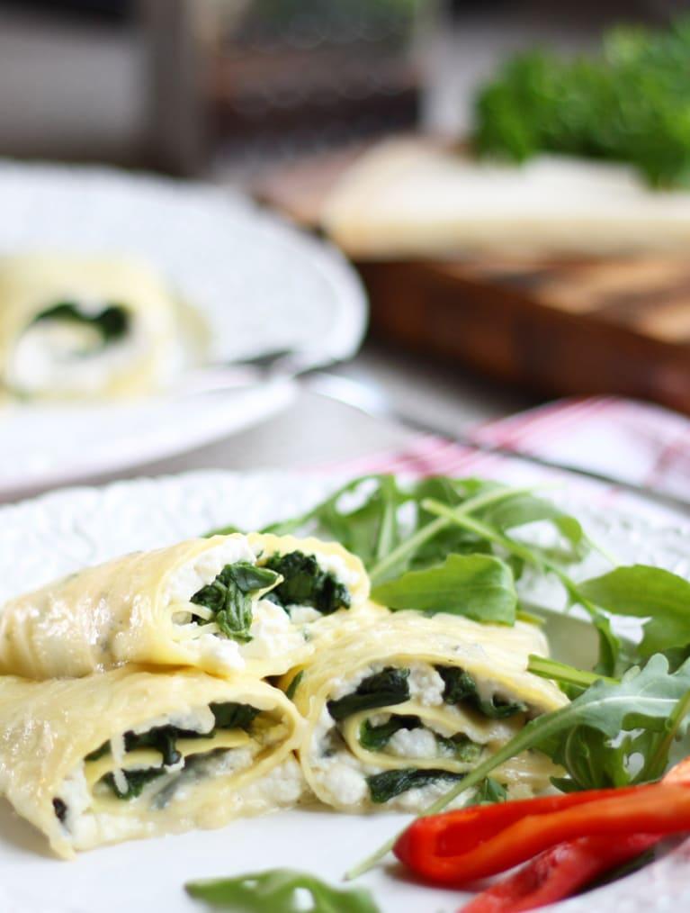 Glutenfria lasagnerullar