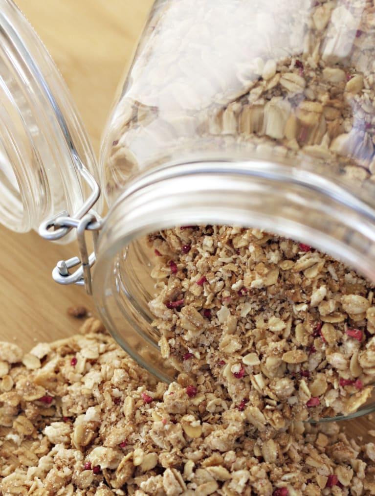 Gluteeniton Granola hyvään aamuun