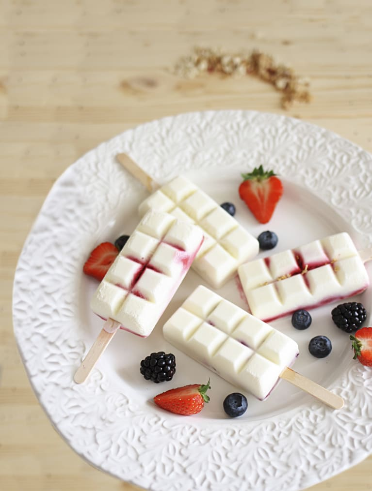 Glutenfri frozen yoghurt