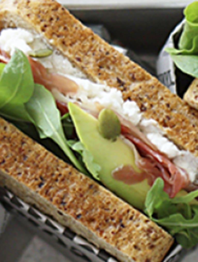 Glutenfri sandwich - opskrift