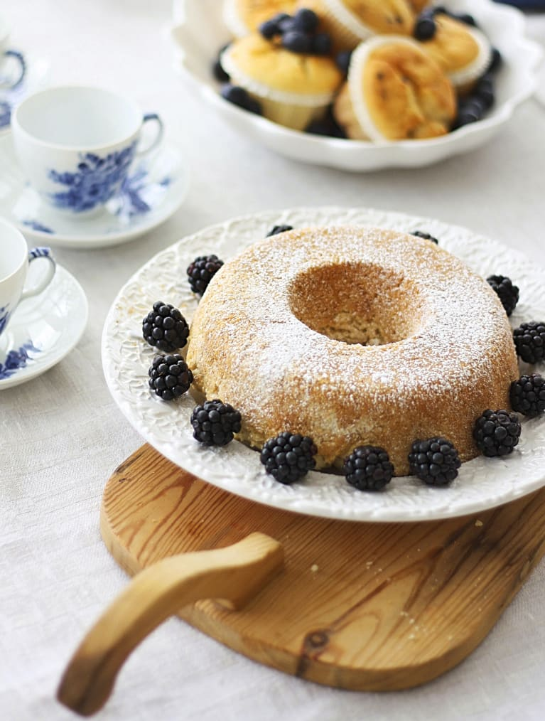 Glutenfri sukkerkake