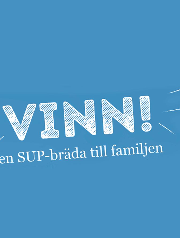 Tävling - vinn en SUP-bräda - Semper Barnmat