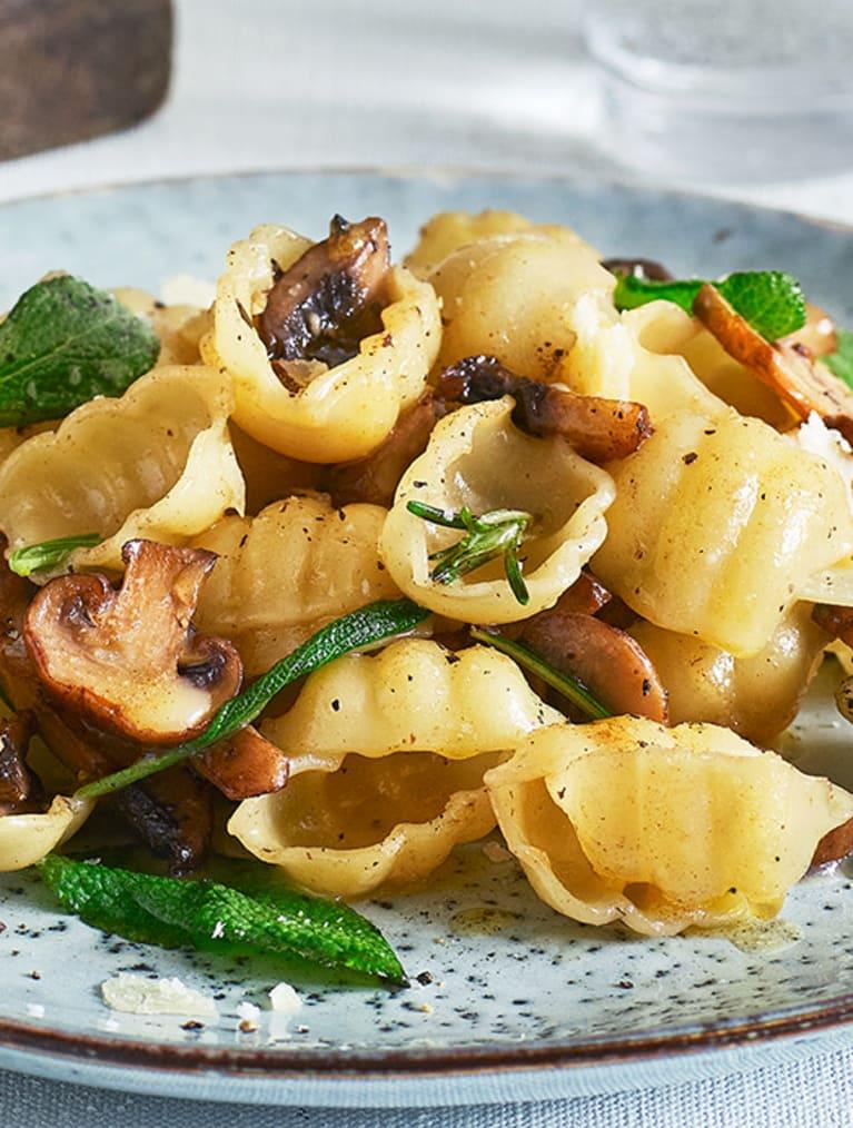 Glutenfri gnocchi ai Funghi med Sempers pasta