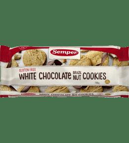 Glutenfri White Chocolate brazil nuts