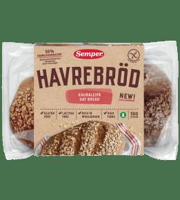Glutenfritt havrebröd från Semper