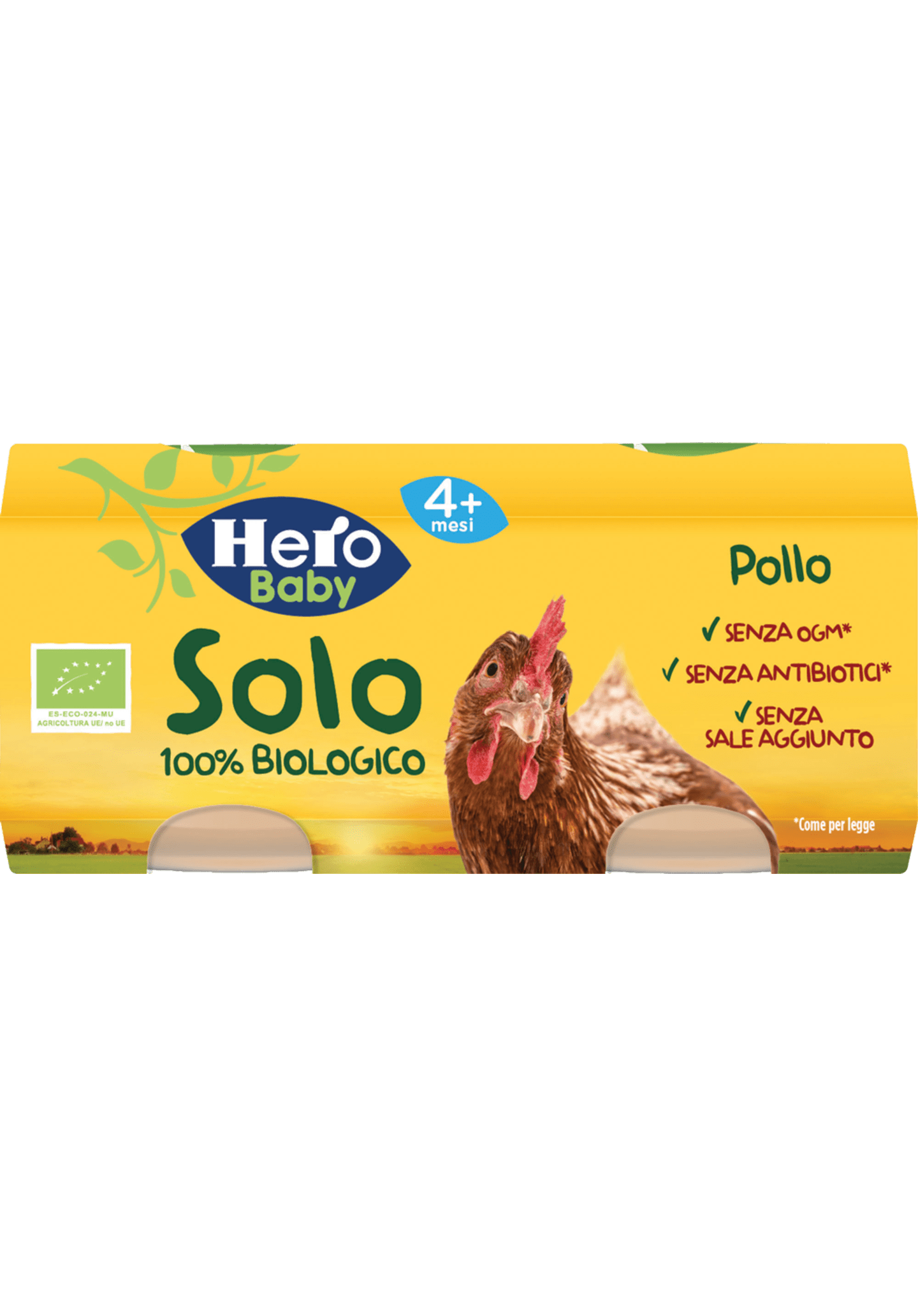 Omogenizzato di pollo