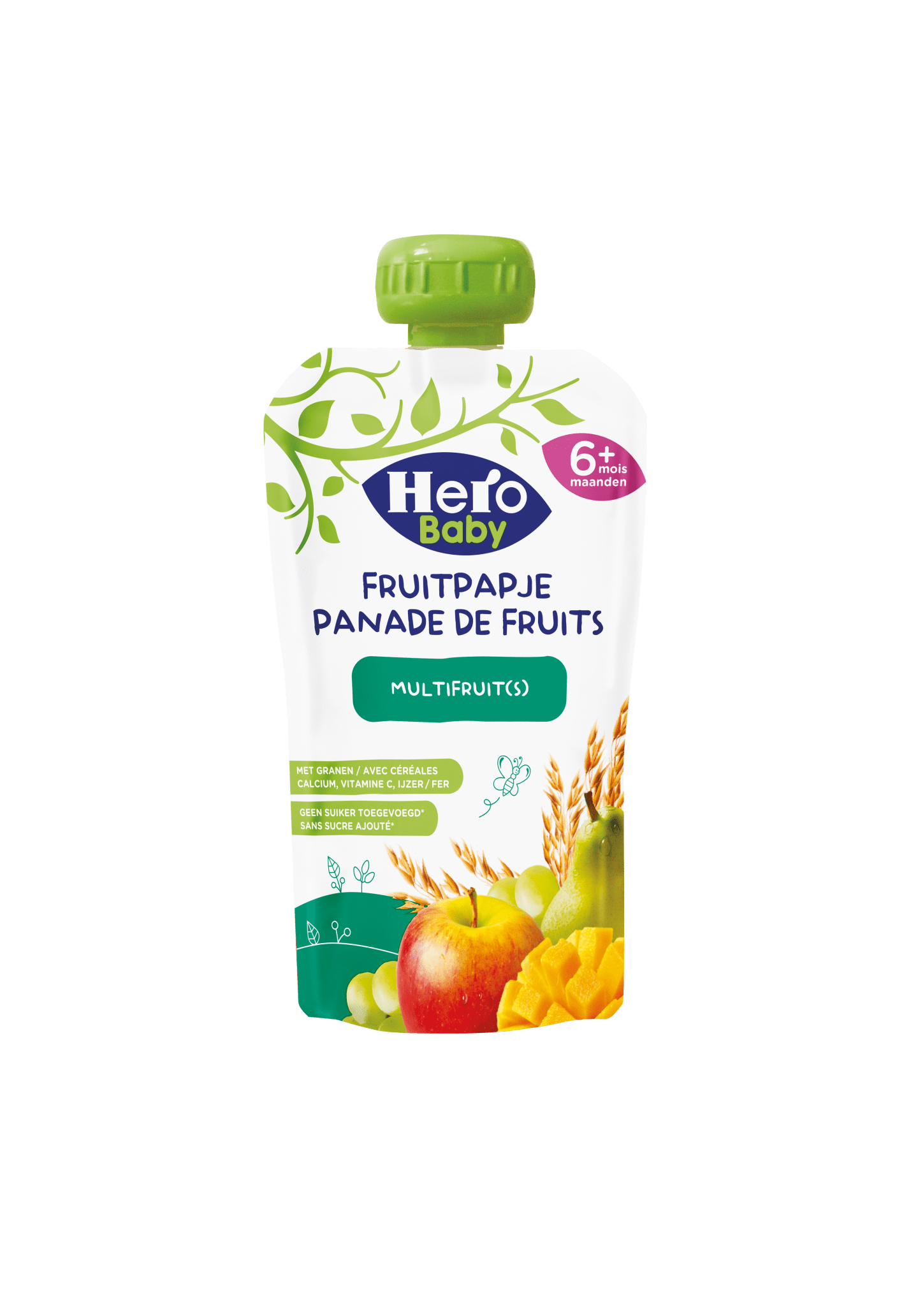 Hero Baby Fruitpapje met Granen Multifruit