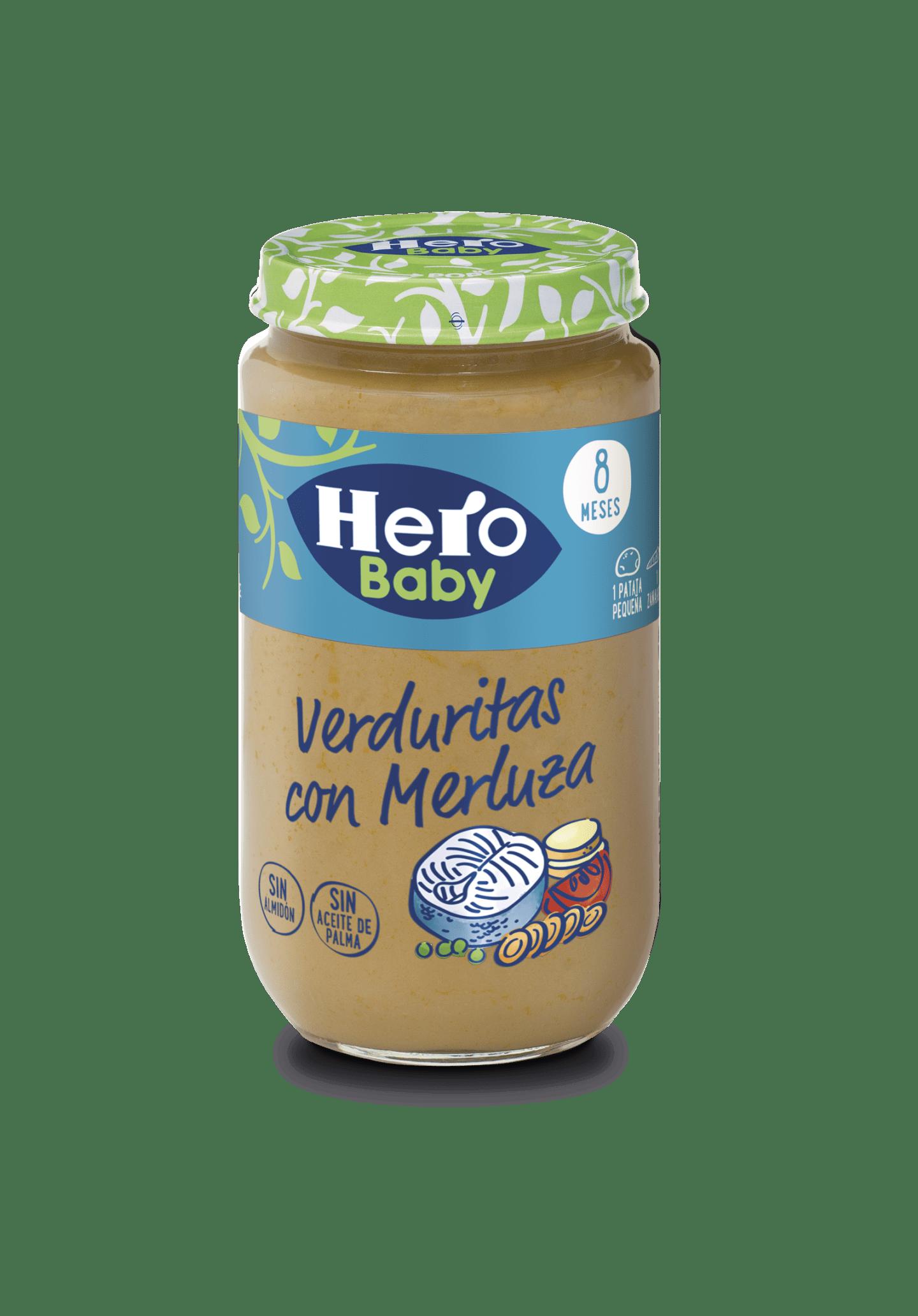 Tarrito de Verduritas con Merluza