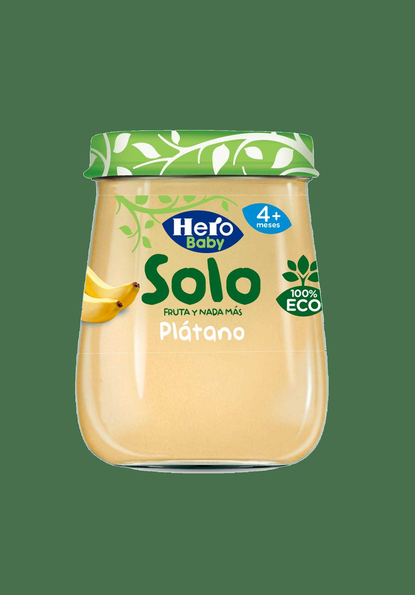 Tarrito Puré Ecológico Plátano