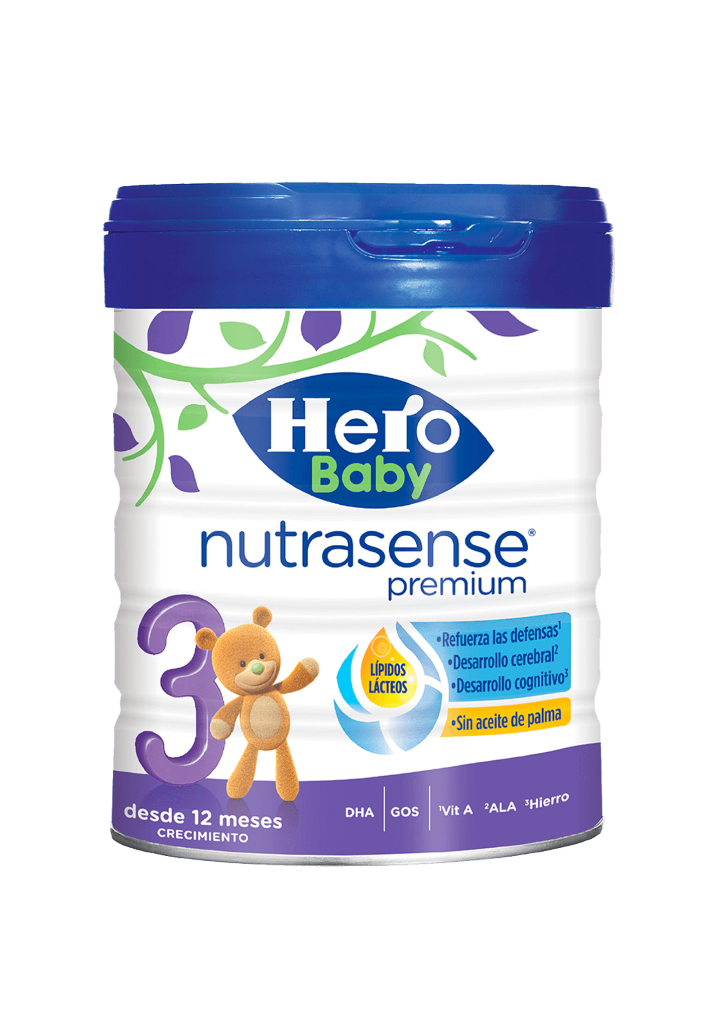 Leche Crecimiento 3 Nutrasense Premium