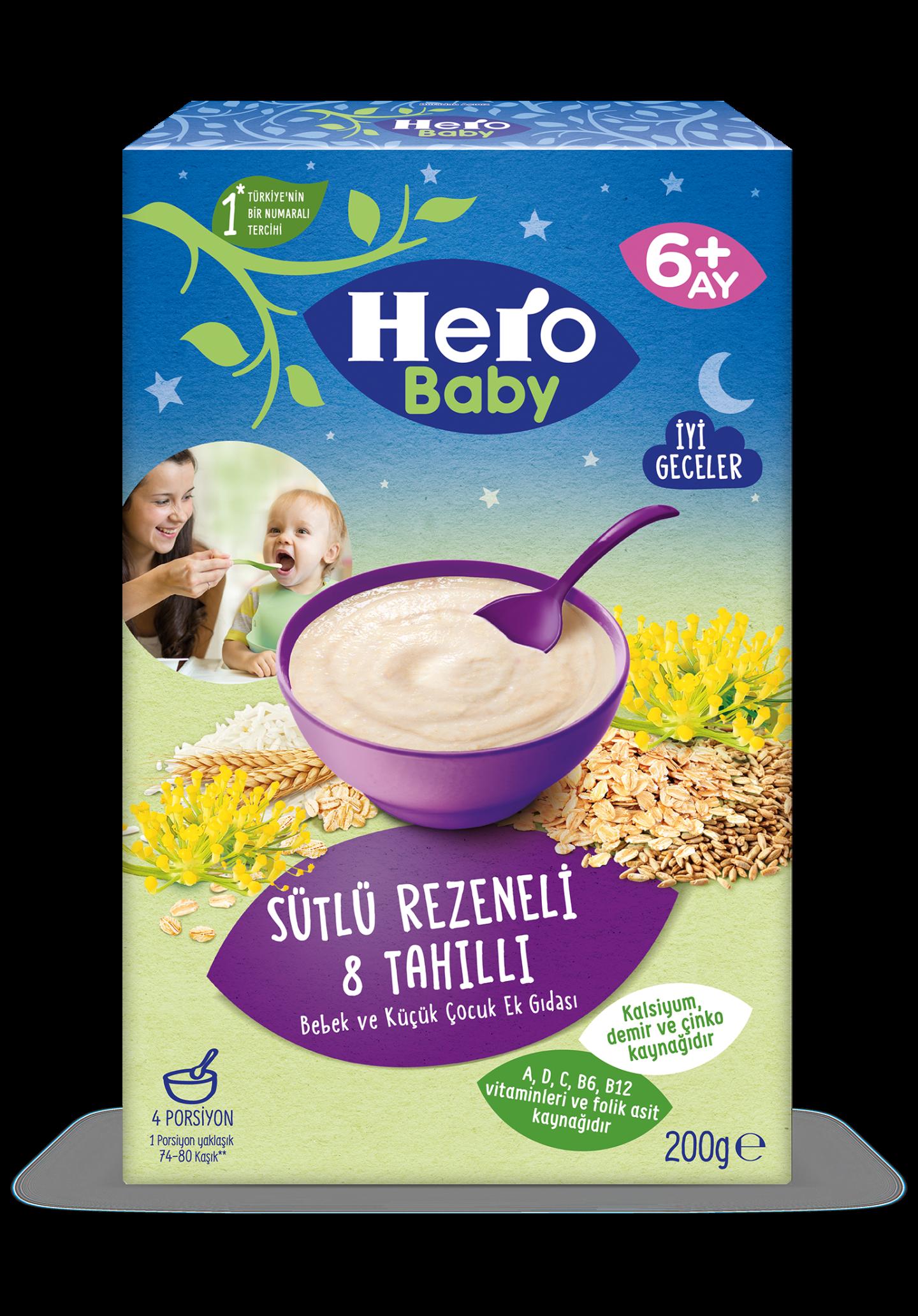 Sütlü Rezeneli 8 Tahıllı