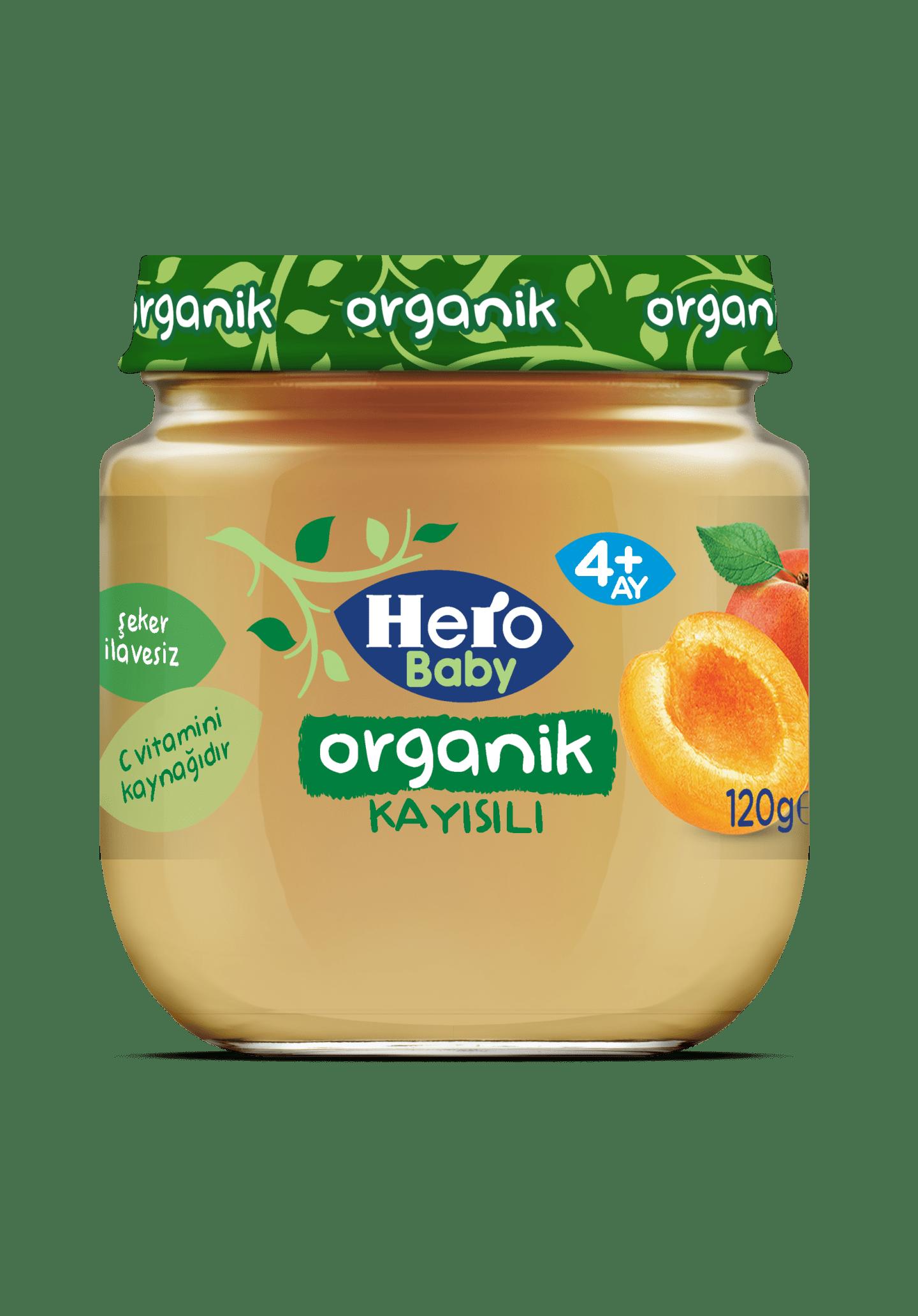Organik Kayısılı 4+