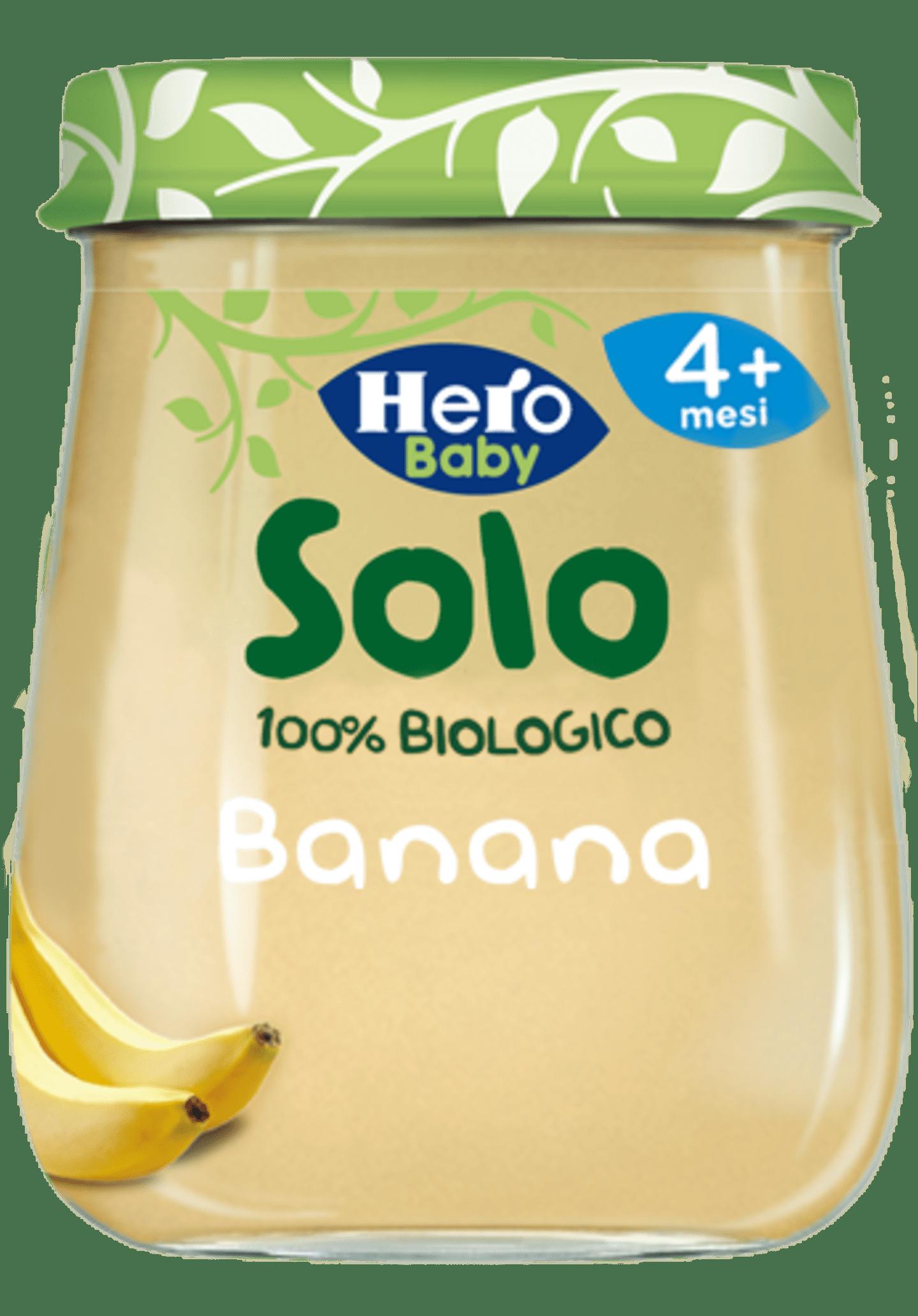 Omogeneizzato Banana Biologica