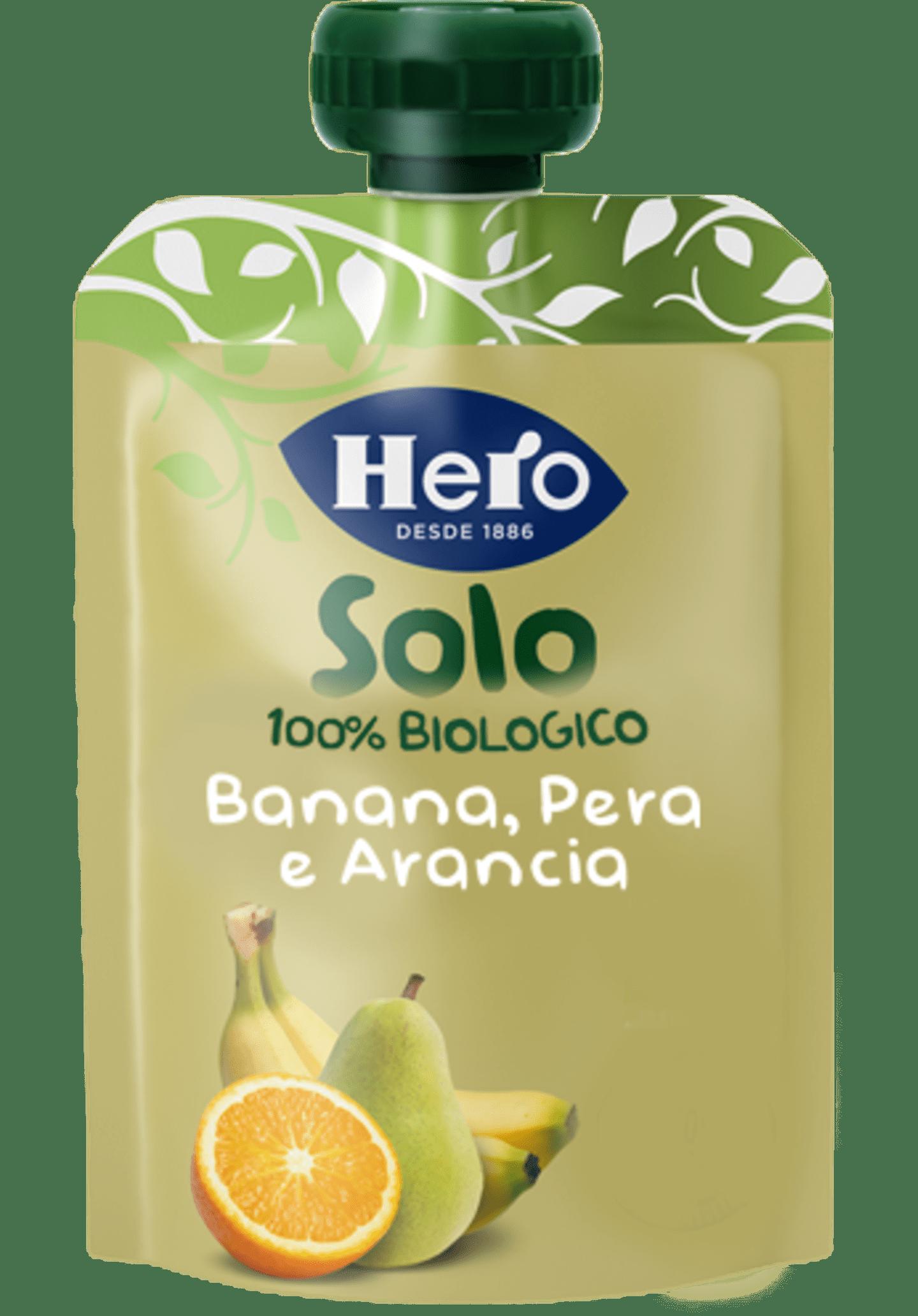Banana, Pera e Arancia Biologiche