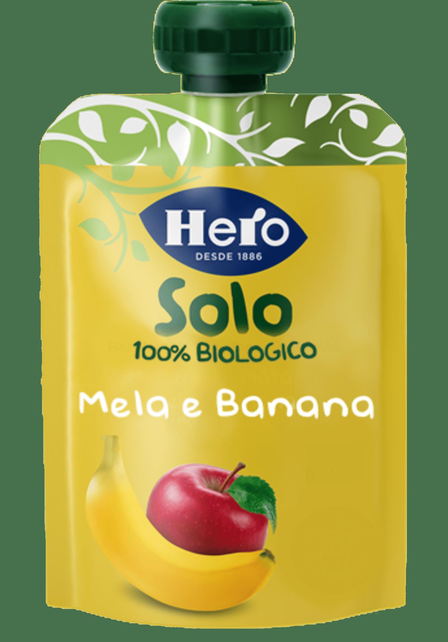 Mela e Banana Biologiche
