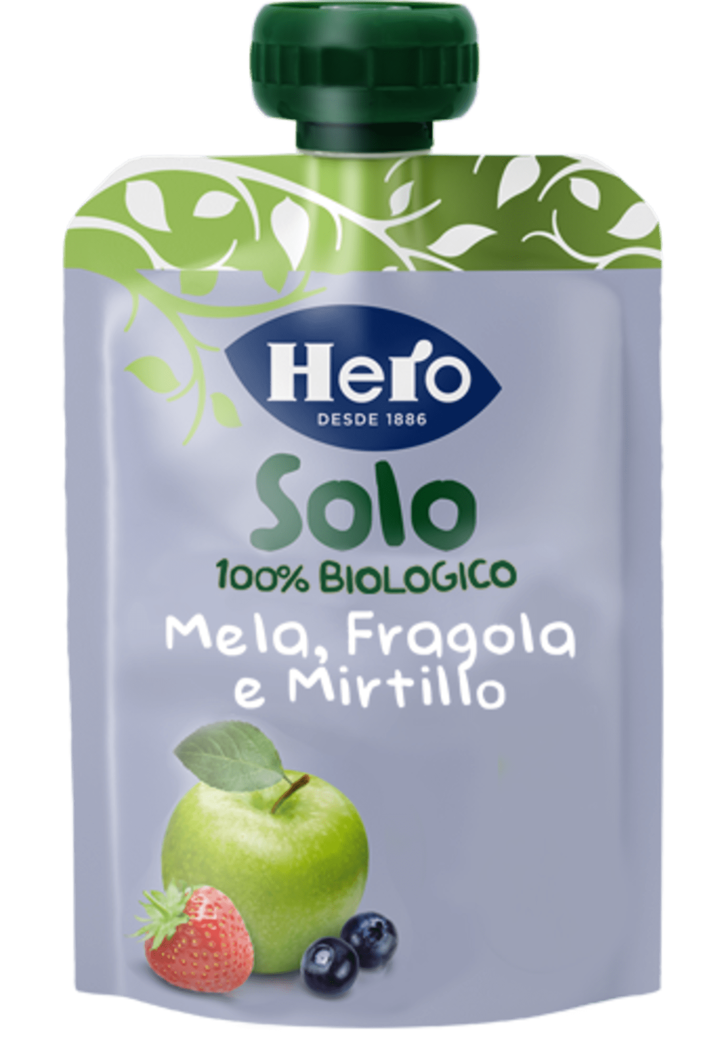 Mela, Fragola e Mirtilli Biologici