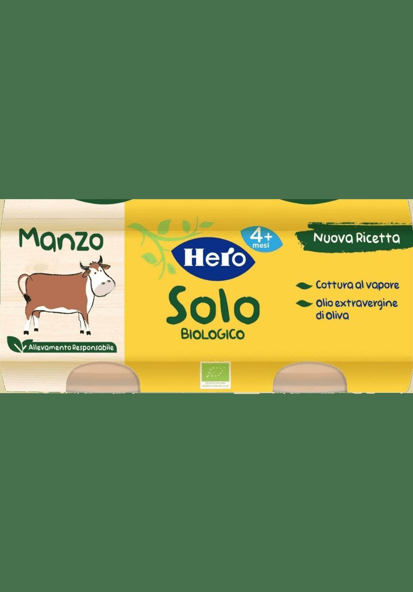 omogeneizzato Manzo Hero Solo