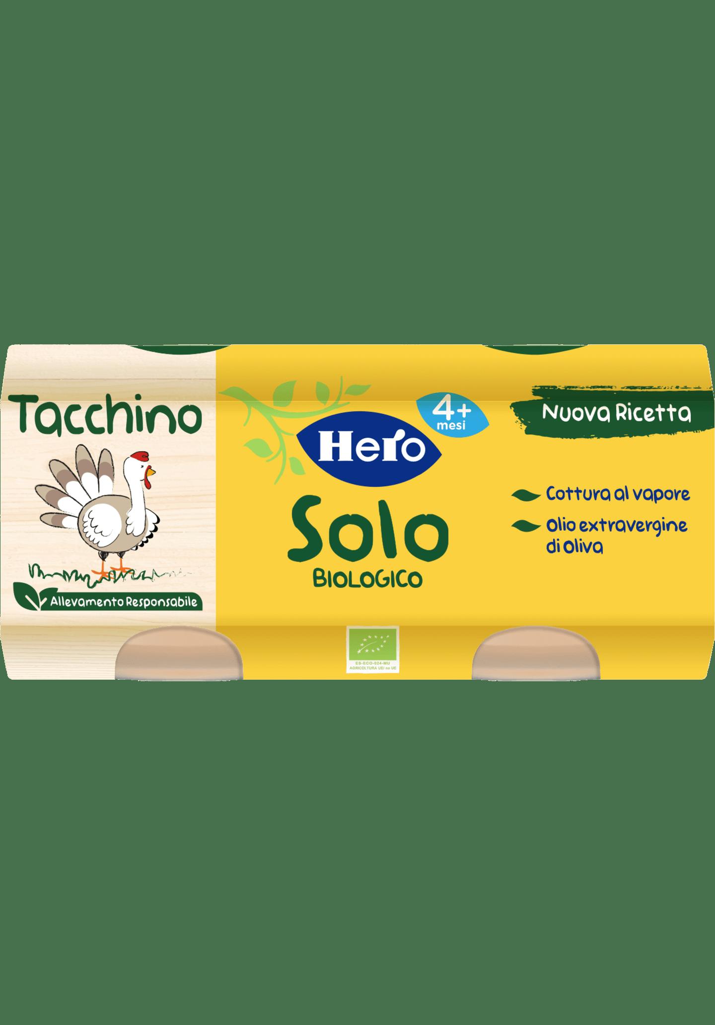 omogeneizzato Tacchino Hero Solo