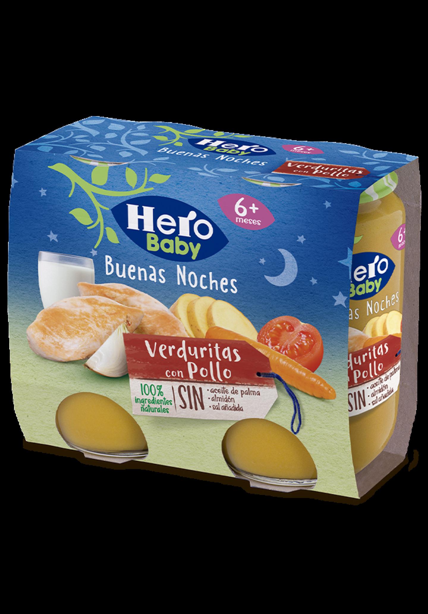 Tarritos de Verduritas con Pollo