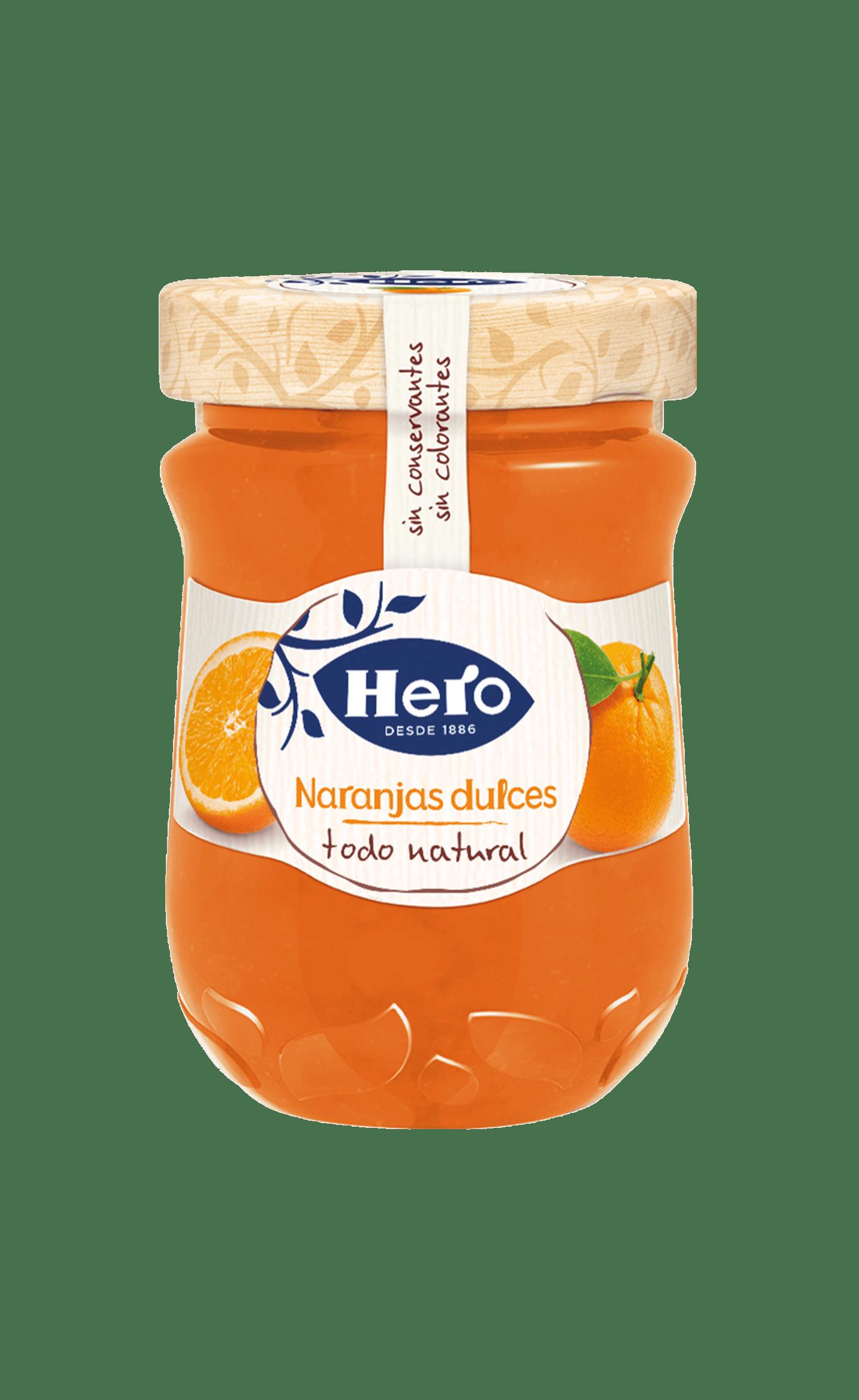Confitura Todo Natural Naranjas Dulces