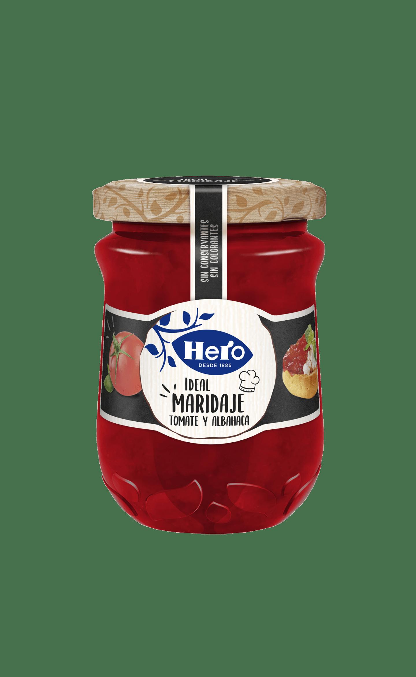 Maridaje Tomate y Albahaca