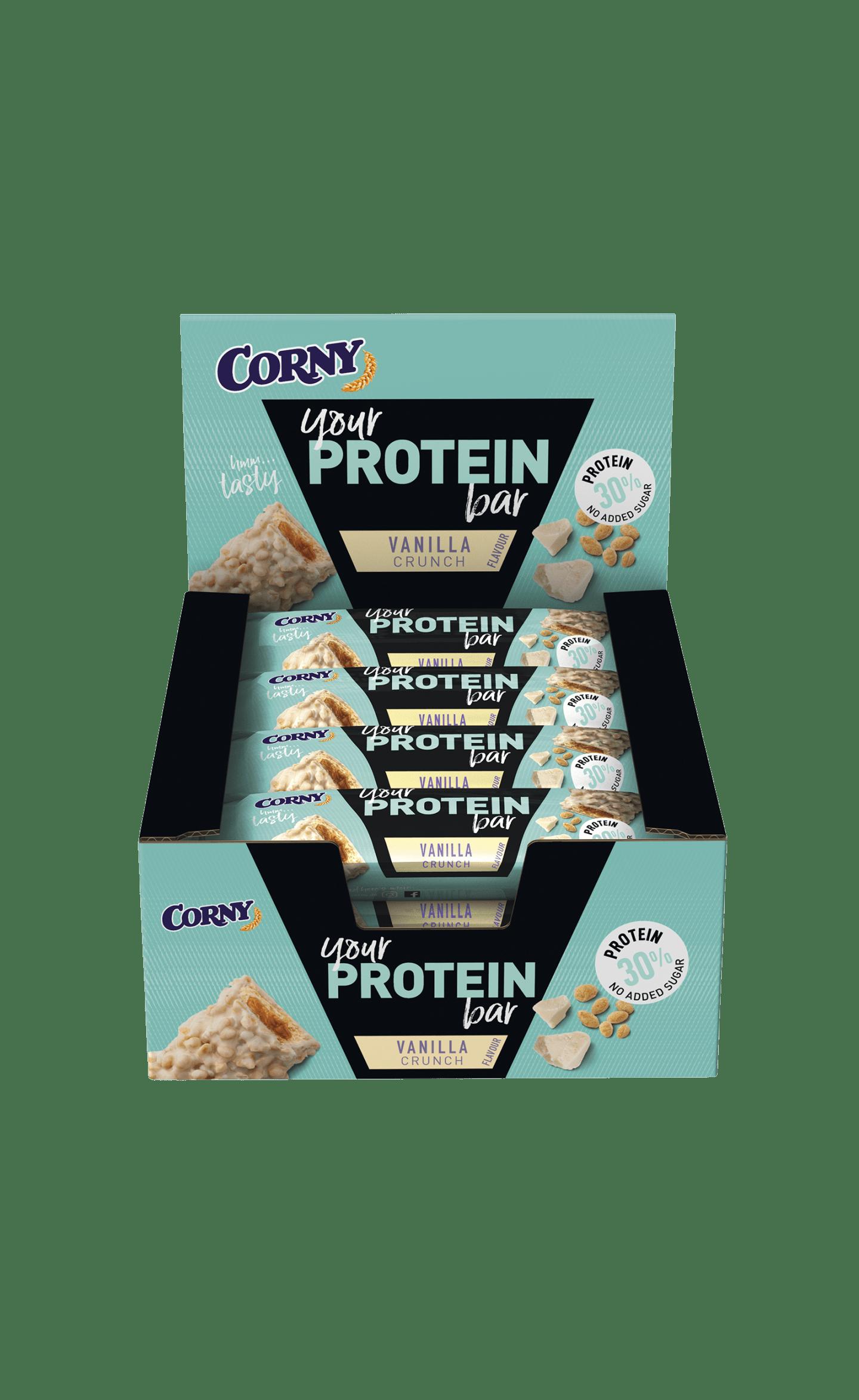 Barritas de proteínas de vainilla