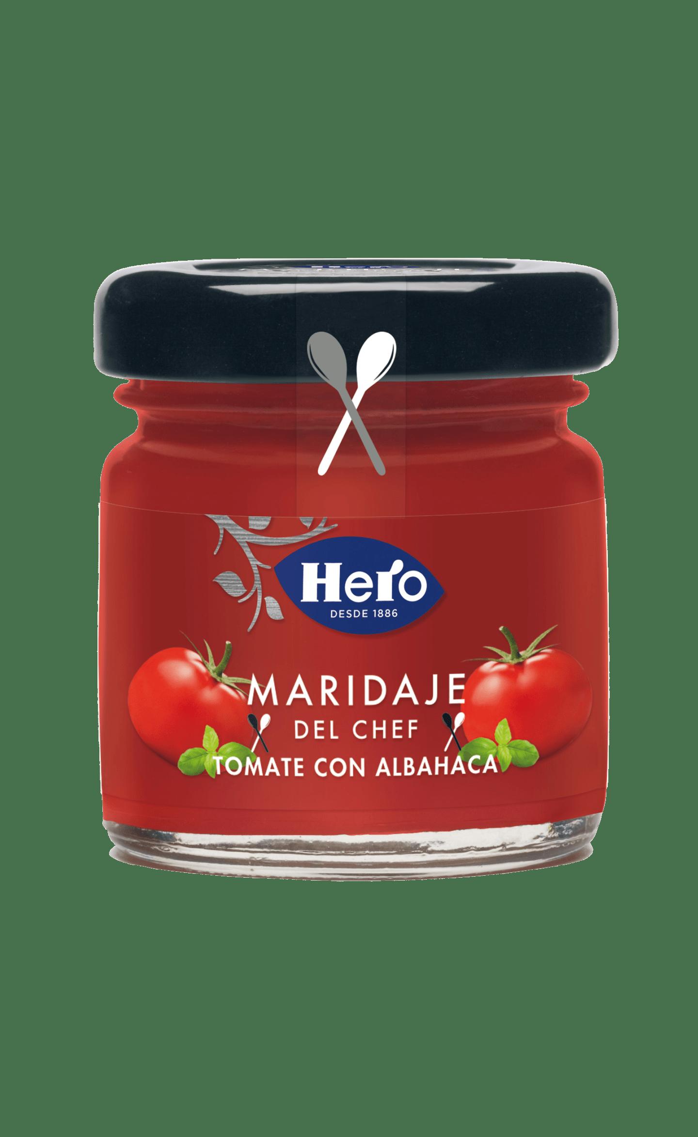 Maridaje de Tomate y Albahaca
