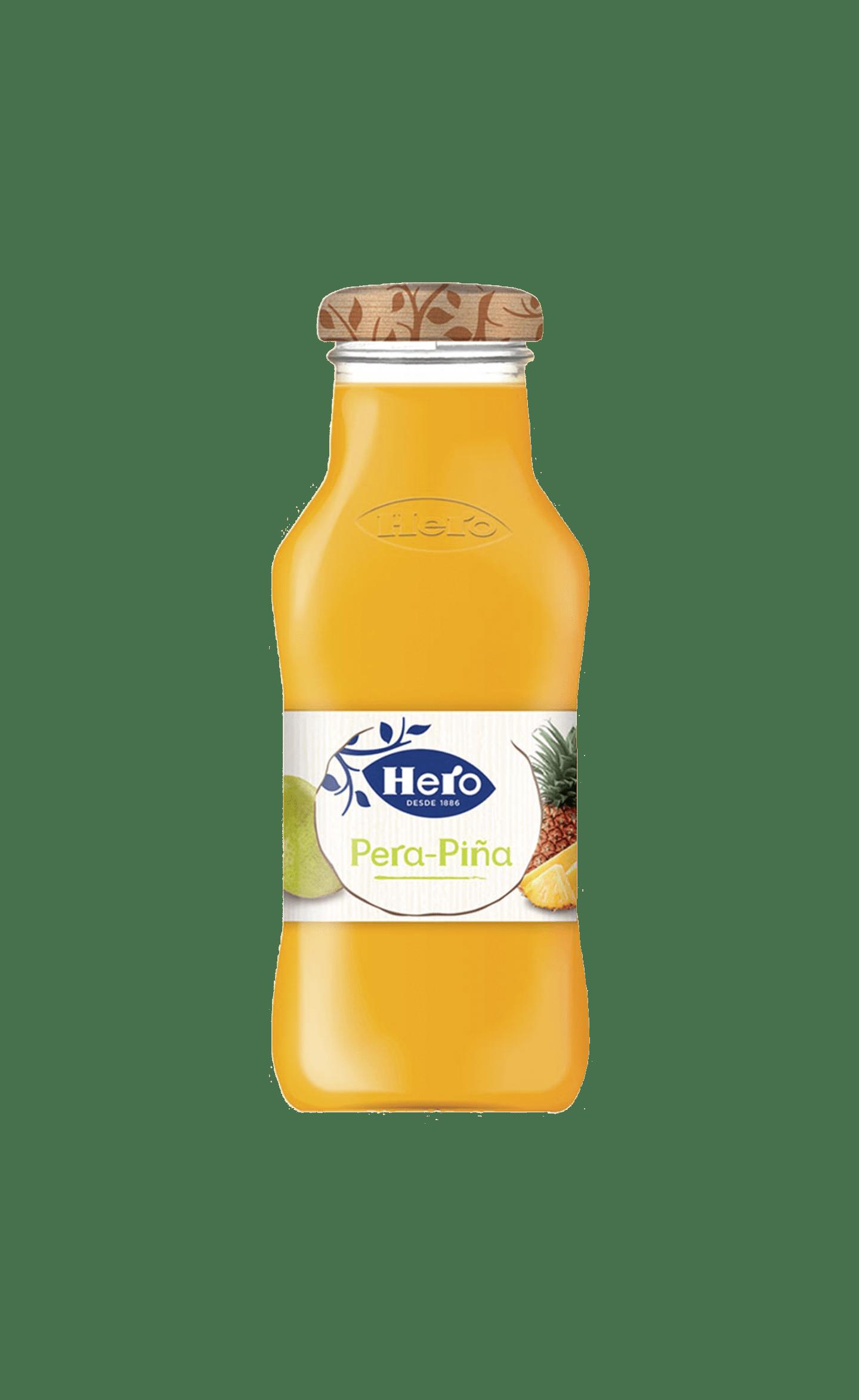 Néctar de pera y piña