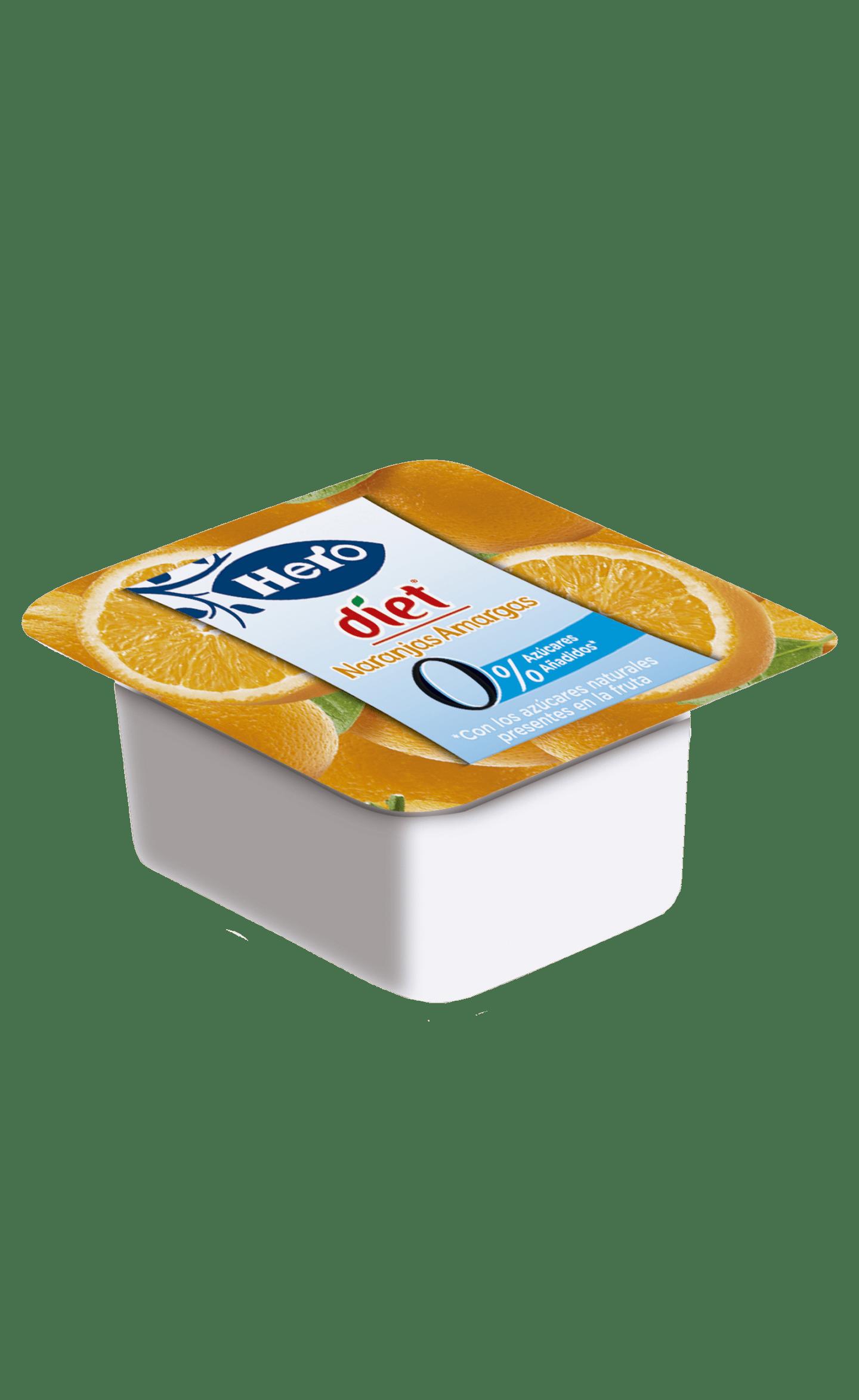 Envase Confitura Diet Naranja Amarga