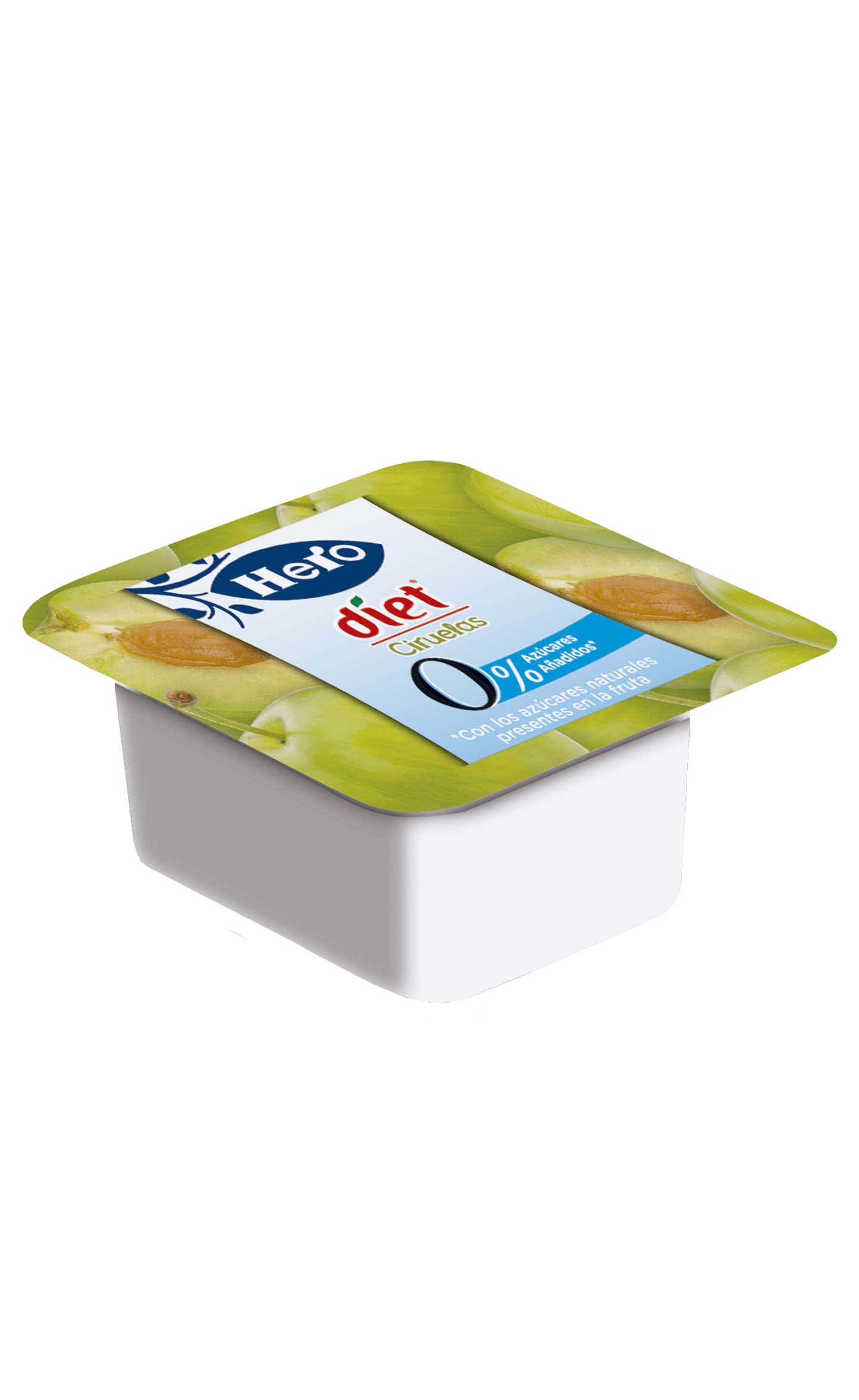 Envase Confitura Diet Ciruela