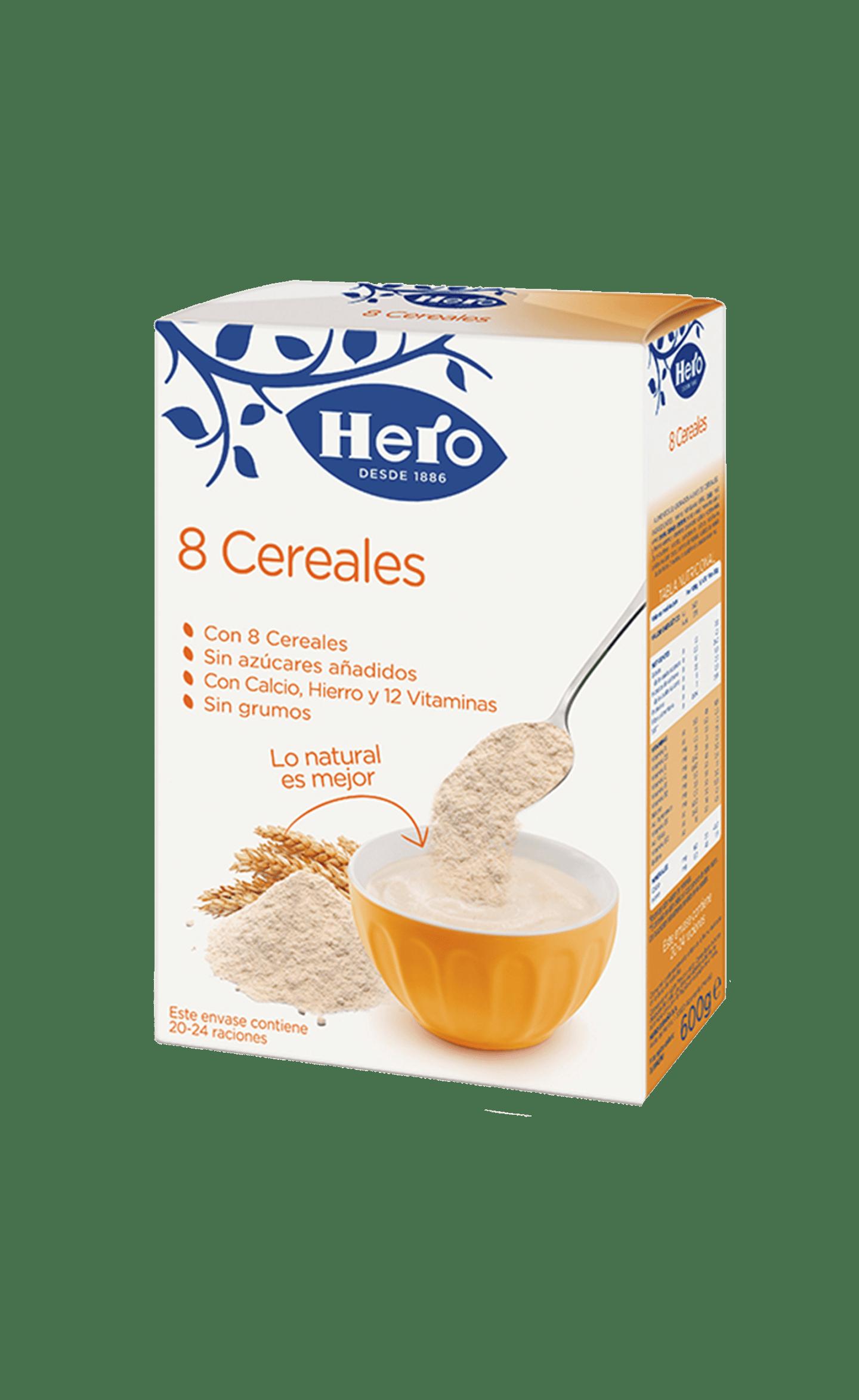 8 cereales para adultos