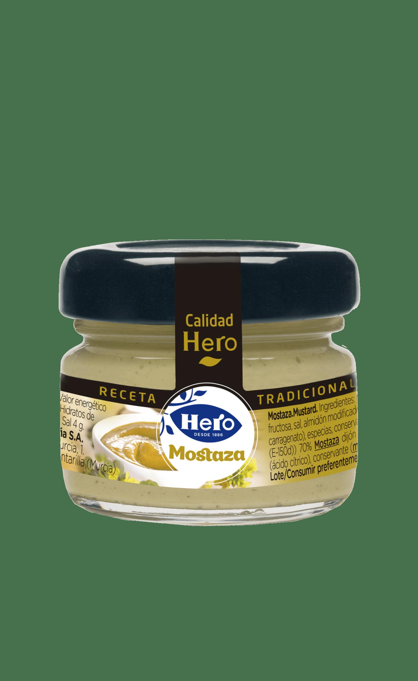 Tarrito de Mostaza Hero