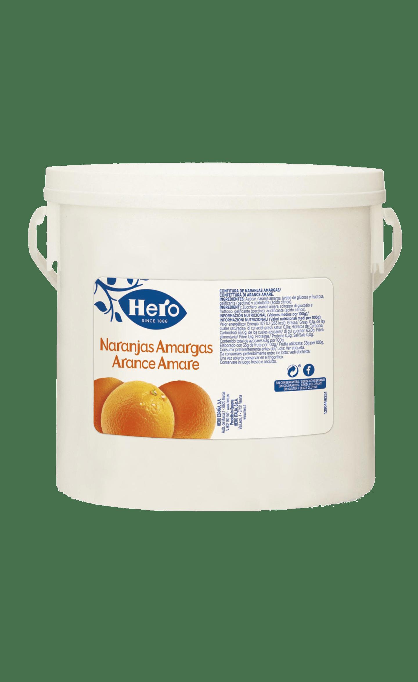 Cubo Confitura extra Naranjas Amargas