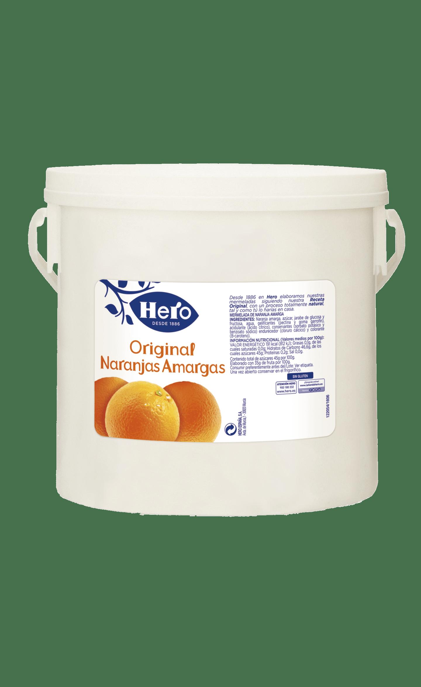 Cubo Confitura original Naranja Amarga