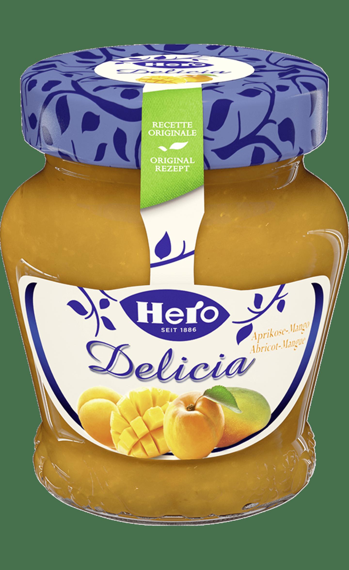 Hero Delicia Konfitüre | Aprikose-Mango