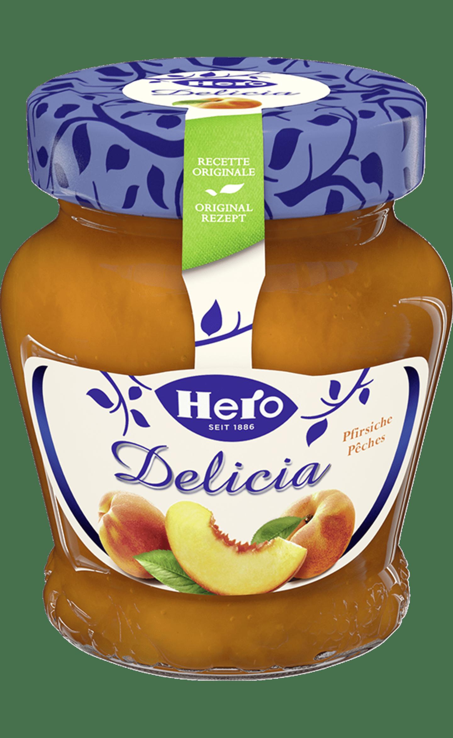Hero Delicia Konfitüre | Pfirsich