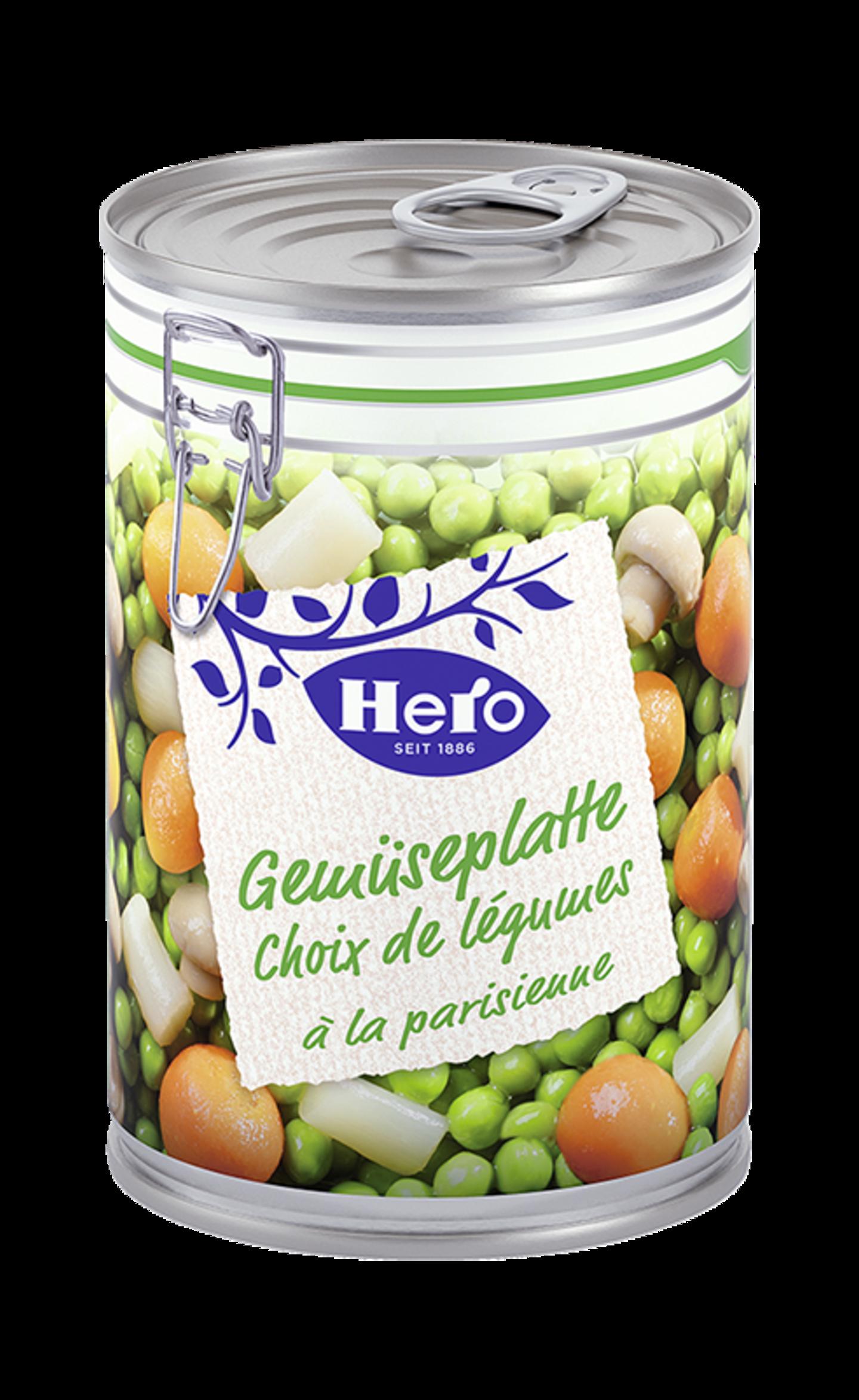 Gemüseplatte Parisienne | Hero