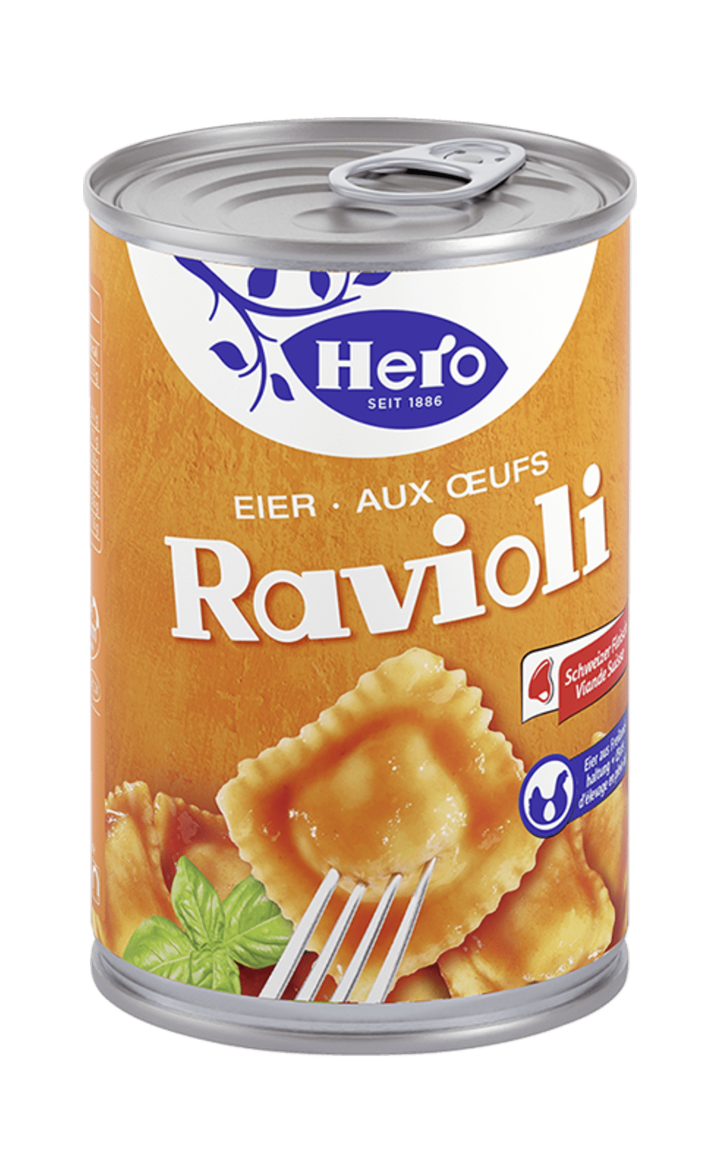 Eier Ravioli | Hero