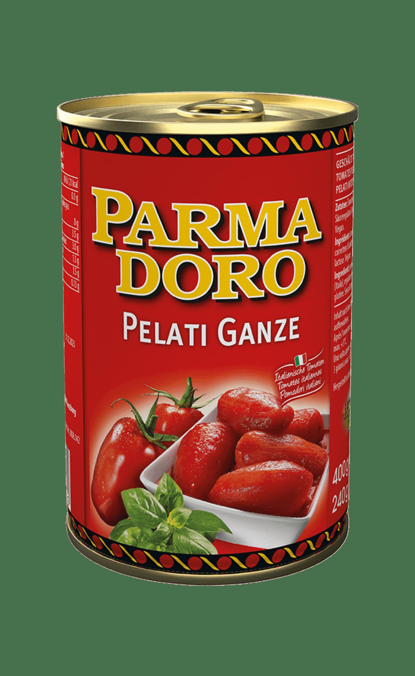 Parmadoro Pelati Ganze