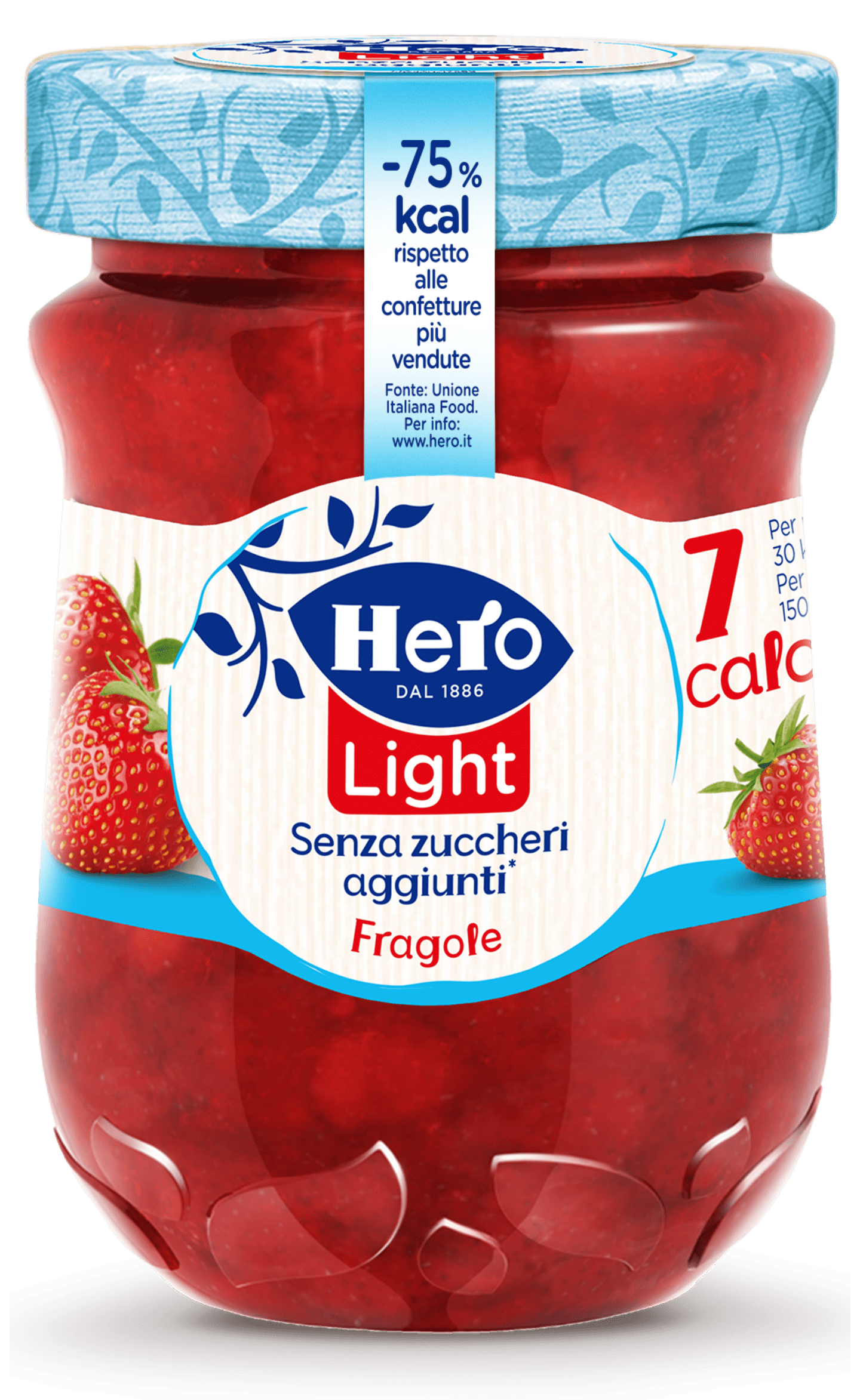 Marmellata di fragole hero light