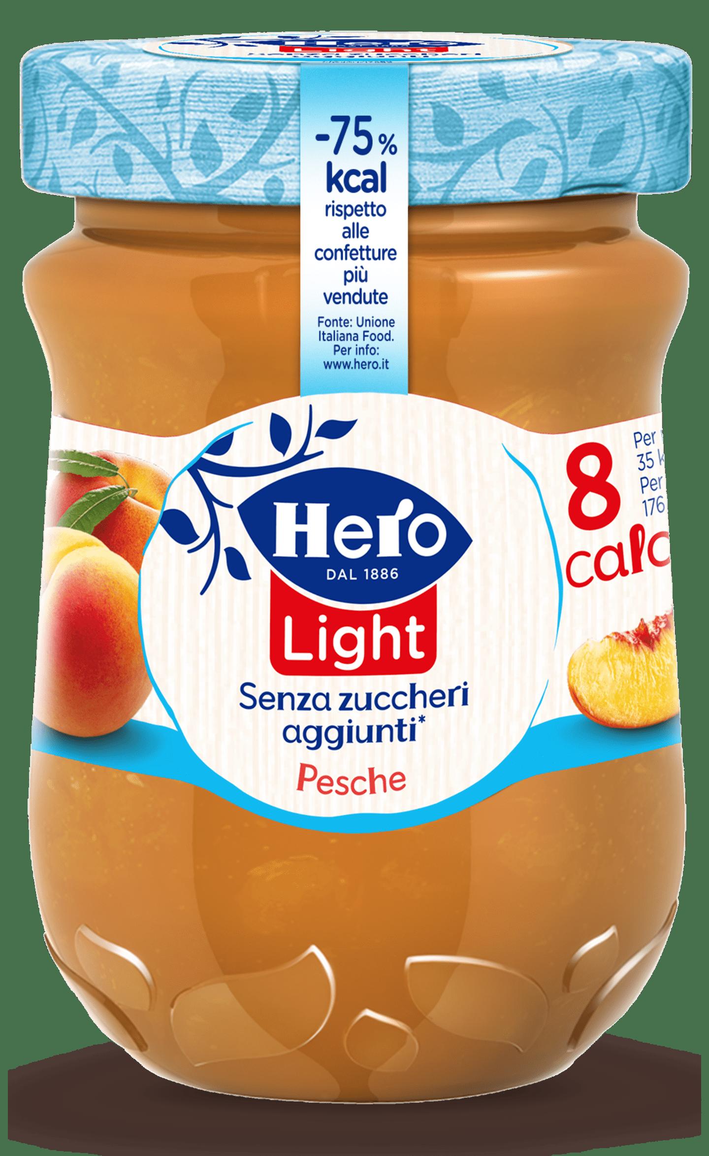 marmellata di pesche hero light