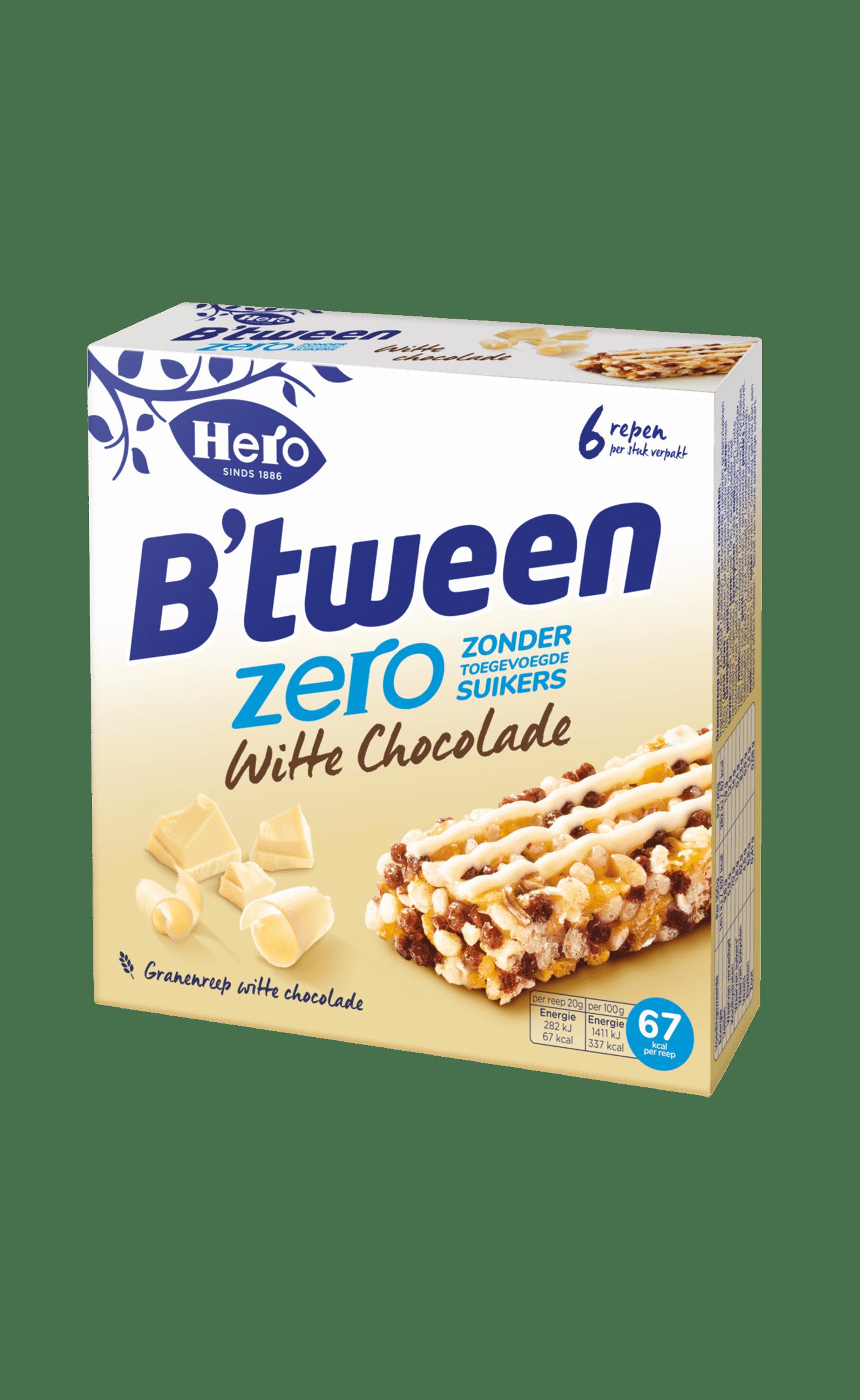 B'tween Zero Witte Chocolade