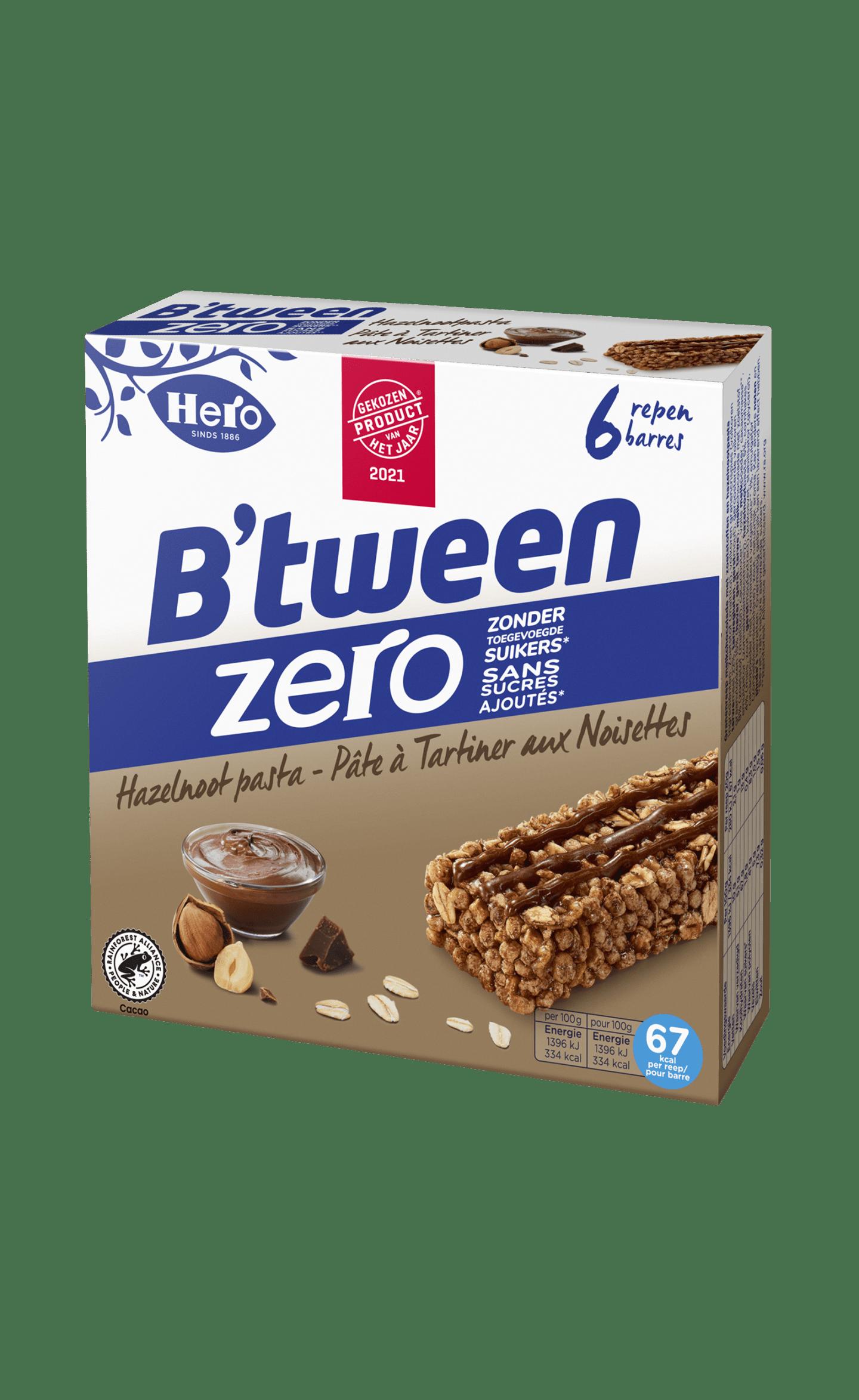B'tween Zero Hazelnootpasta