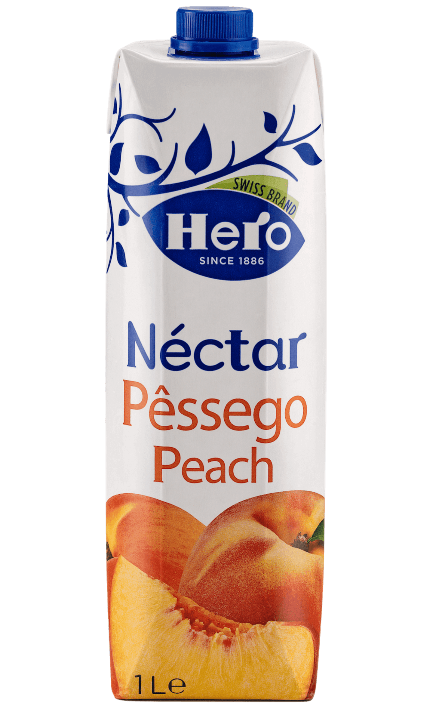 HERO PÊSSEGO 1L