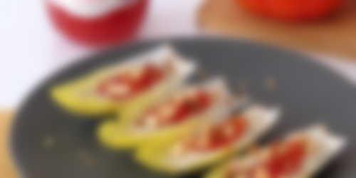 endibias rellenas con ricotta de anacardos