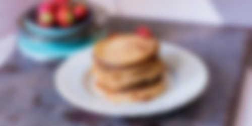 Bereiding_Havermoutpannenkoekjes met aardbeienjam