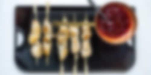 Bereiding_Kipspiesjes met Black Cherry BBQ sauce