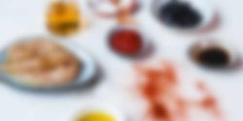 Ingredienten_Kipspiesjes met Black Cherry BBQ sauce