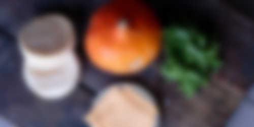 Ingredienten_Pompoenmuffin met rucola en cheddar